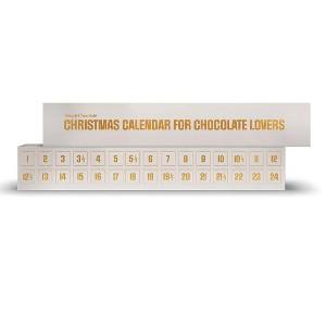 Chokolade julekalender med ekstra bonus låger