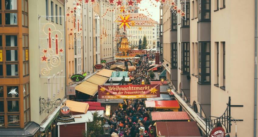 oplev de mange markeder i Dresden under julen