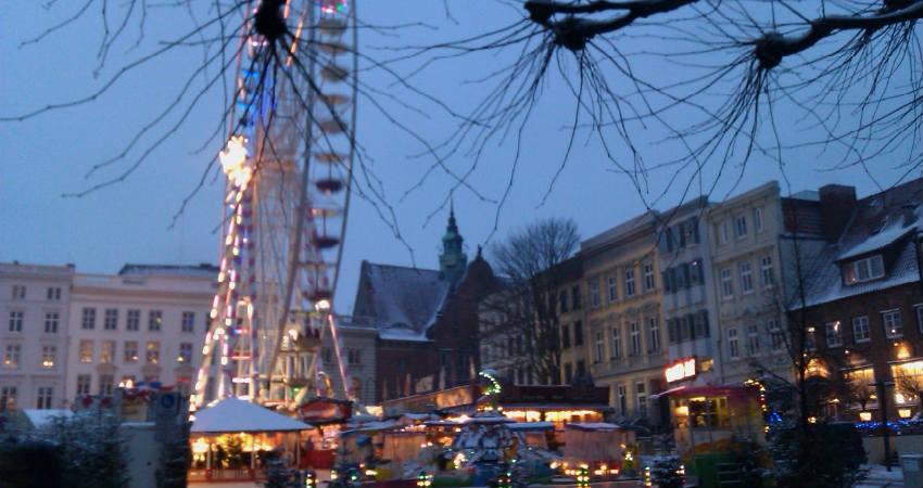 Lübeck er et berømt julemarked