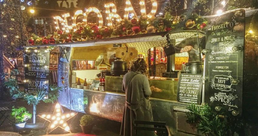 tag på juleweekend i London