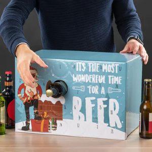 køb den sjove kasse til at lave din egen øl pakkekalender