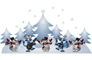 find de sjove julebilleder med sne, børn og meget andet