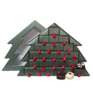 køb en økologisk chokolade julekalender til mor
