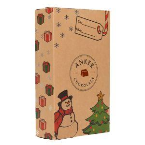 økologisk julekalender med chokolade til børn