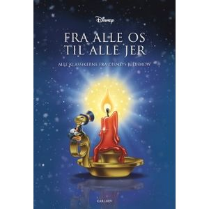 gavebog med alle historierne fra Disneys juleshow