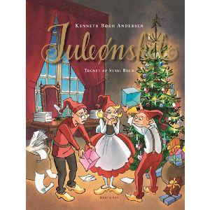 læs juleønsket med børnene